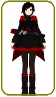 RWBY Ruby Rose Cosplay Costume
