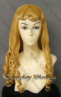 Sleeping Beauty Princess Aurora Custom Made Cosplay Wig