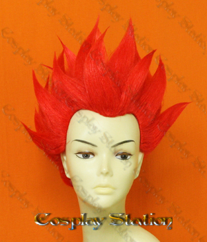 Street Fighter 4 Akuma Custom Styled Wig