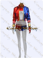 Suicide Squad Harley Quinn Custom Made Cosplay Costume: High Quality!