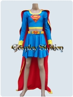 "Super Girl Cosplay Costume_<font color=""red"">New Arrival!</font>"