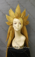 Super Saiyan 3 Goku Custom Made Cosplay Wig