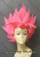 Super Saiyan Black Goku Rose Custom Made Cosplay Wig