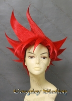 Super Sayian God mode Goku Custom Styled Cosplay Wig