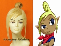 The Legend of Zelda Phantom Hourglass Cosplay Tetra Custom Made Cosplay Wig