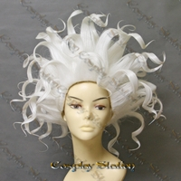 The Little Mermaid Ursula White Custom Styled Cosplay Wig