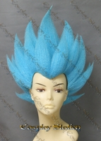 Vegeta Blue Custom Made Cosplay Wig