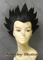Vegeta Short Black Custom Made Cosplay Wig