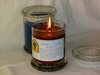 Single Christian Prayer Candle