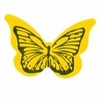 Yellow Butterfly Stickers