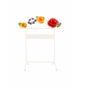 Bella Rosa Earring and Necklace Holder Coral