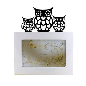 Cut Out Owl 6x4 Picture Frame