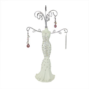 Diamond Collection Bridal Gown Jewelry Stand