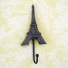 Eiffel Tower Wall Hook Vintage Style