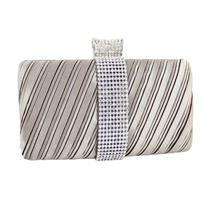 Elegant Clutch Evening Purse Collection Beige