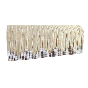 Elegant Shimmering Evening Purse Collection Gold