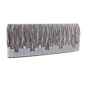 Elegant Shimmering Evening Purse Collection Grey