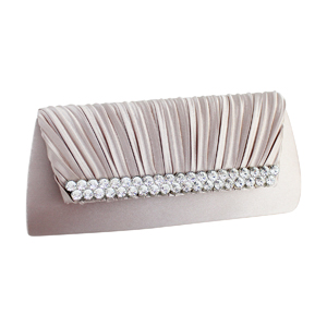 Elegant Vintage Crystals Purse Collection Light Pink