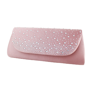 Glittering Evening Purse Collection Pale Pink