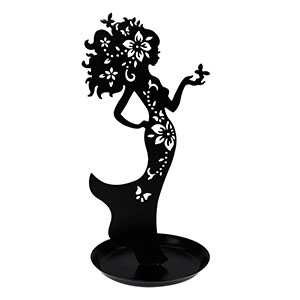 Lady of Nature Metal Jewelry Display Stand