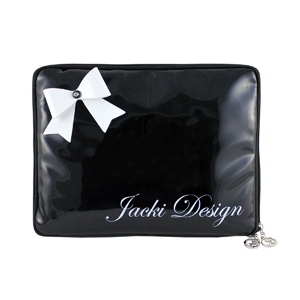 Mademoiselle iPad Sleeve Black