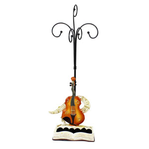 Music Collection Ring and Jewelry Stand Acoustic Guitar