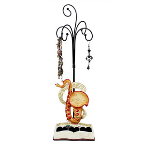 Music Collection Ring and Jewelry Stand Saxophone