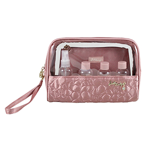 Retro Chic 6pc Travel Set Blush