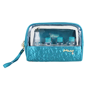 Retro Chic 6pc Travel Set Turquoise
