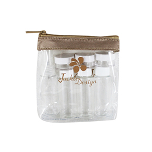 Retro Chic 8pc Travel Bottle Set Champagne
