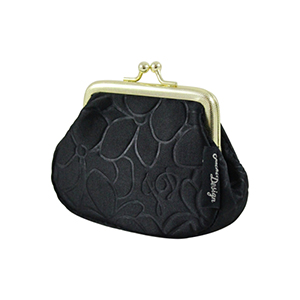 Retro Chic Coin Purse Black