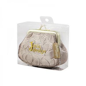 Retro Chic Coin Purse Champagne