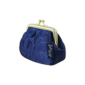 Retro Chic Coin Purse Navy Blue