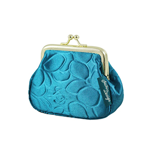 Retro Chic Coin Purse Turquoise