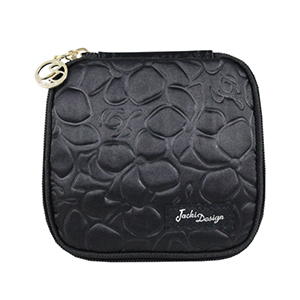 Retro Chic Jewelry Bag (Large) Black