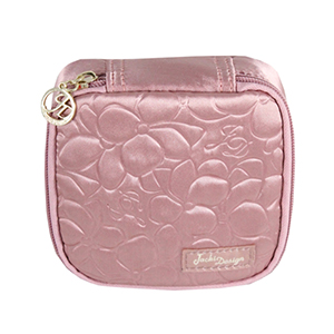 Retro Chic Jewelry Bag (Large) Blush