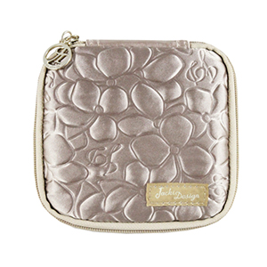 Retro Chic Jewelry Bag (Large) Champagne