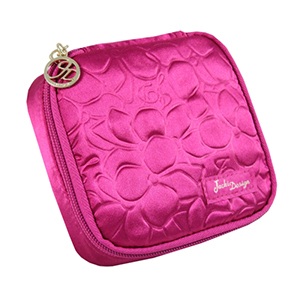 Retro Chic Jewelry Bag (Large) Hot Pink