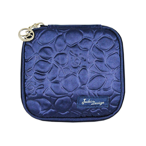 Retro Chic Jewelry Bag (Large) Navy Blue