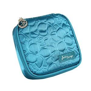 Retro Chic Jewelry Bag (Large) Turquoise