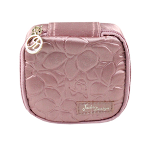 Retro Chic Jewelry Bag (Small) Blush