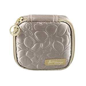 Retro Chic Jewelry Bag (Small) Champagne