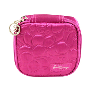 Retro Chic Jewelry Bag (Small) Hot Pink