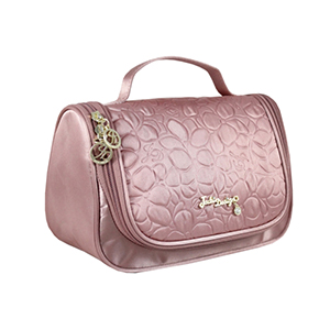 Retro Chic Travel Bag with Hanger Blush