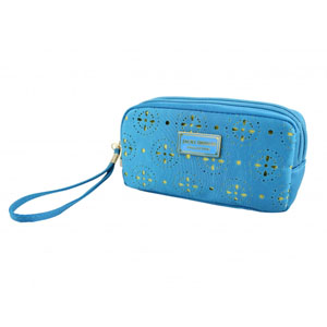 Sassy and Bright Bag with Wristlet Blue