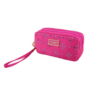 Sassy and Bright Bag with Wristlet Hot Pink