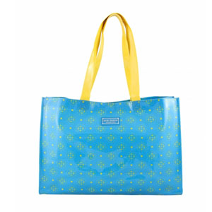 Sassy and Bright Tote Bag Blue