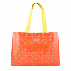 Sassy and Bright Tote Bag Coral