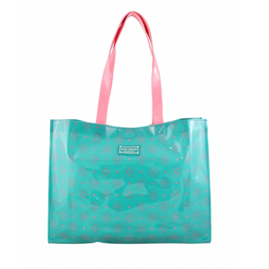 Sassy and Bright Tote Bag Emerald