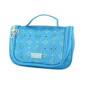 Sassy and Bright Travel Bag with Hanger Blue
